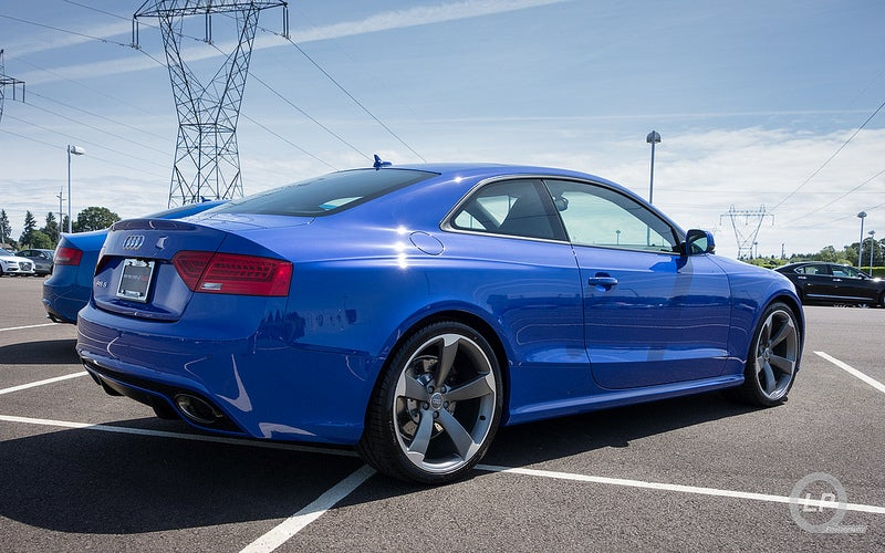 Quick Spin In An Exclusive Nogaro Blue Audi Rs 5