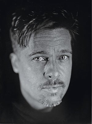 """Illustration for article titled Brad Pitt In W: The Angie Vs. Jen Controversy Is """"Created"""""""