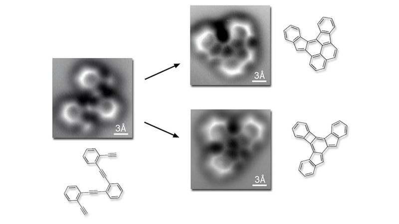 Illustration for article titled These First Photos of Atoms Bonding Were Taken Totally by Accident