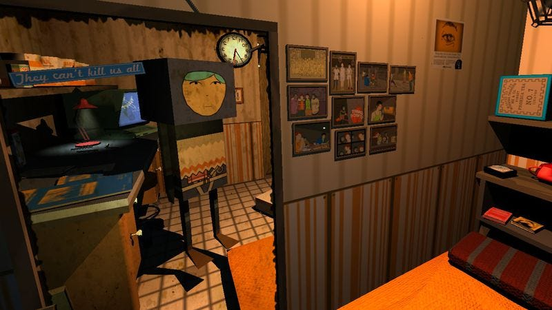 Screenshot: Quadrilateral Cowboy