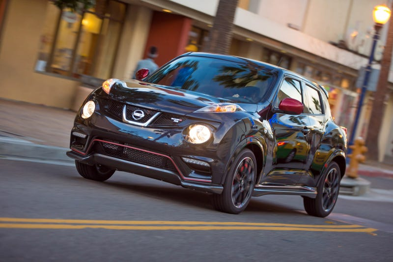 Illustration for article titled The Nissan Juke Nismo RS Gets More Power, But No Manual AWD