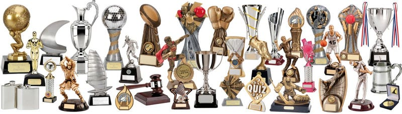Illustration for article titled customized trophy gifts