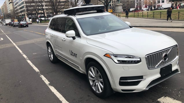 Uber Kicks Its Self-Driving Car Unit Out the Side Door