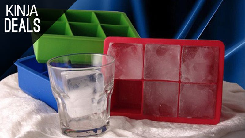 Illustration for article titled Make Big, Fancy Ice Cubes for Your Big Fancy Drinks With This $6 Mold