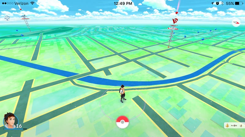 Illustration for article titled How to Play Pokémon Go In Landscape Mode On the iPhone