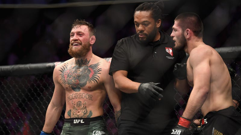 Illustration for article titled The Conor-Khabib Beef Has Gotten Out Of Hand, And The UFC Has Only Itself To Blame
