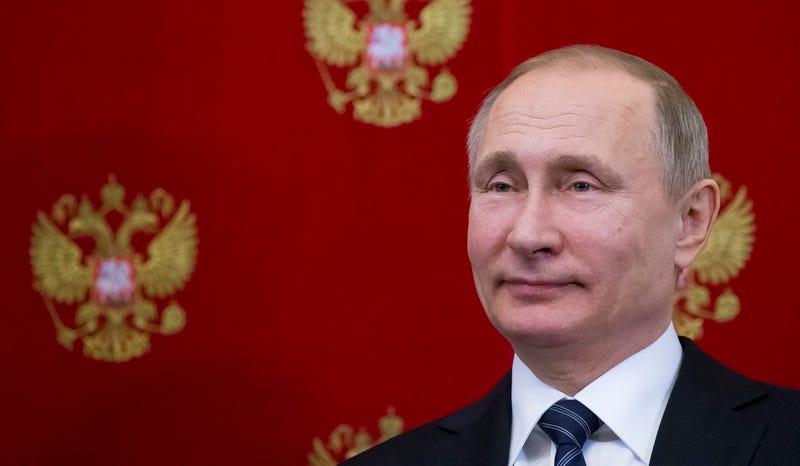 Vladimir Putin in Moscow on February 10, 2017 (AP Photo/Alexander Zemlianichenko, pool)