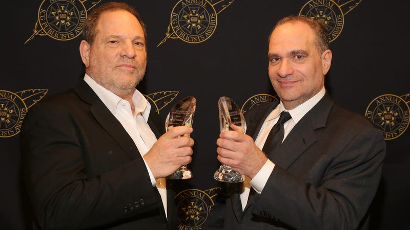 Illustration for article titled Harvey Weinstein's so awful, his brother has to step down as well