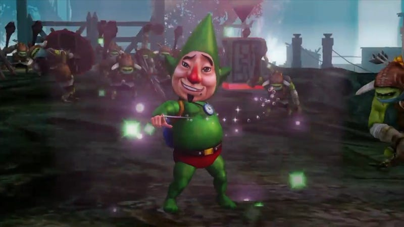 Illustration for article titled Tingle's Coming to Blow Up Hyrule Warriors on February 5