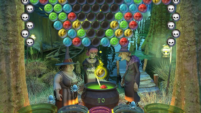 Illustration for article titled Bubble Witch Saga Pops In On the Future of Cross-Platform Social Gaming