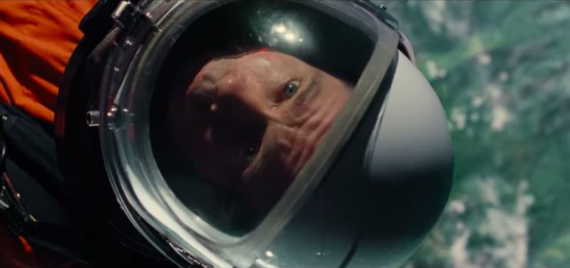Illustration for article titled Brad Pitt takes to the stars in first trailer for James Gray's Ad Astra