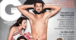 Illustration for article titled Nearly NakedMarco Belinelli PosesFor GQ Italia Cover