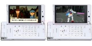 Illustration for article titled Japanese Phone Gets Prof. Layton