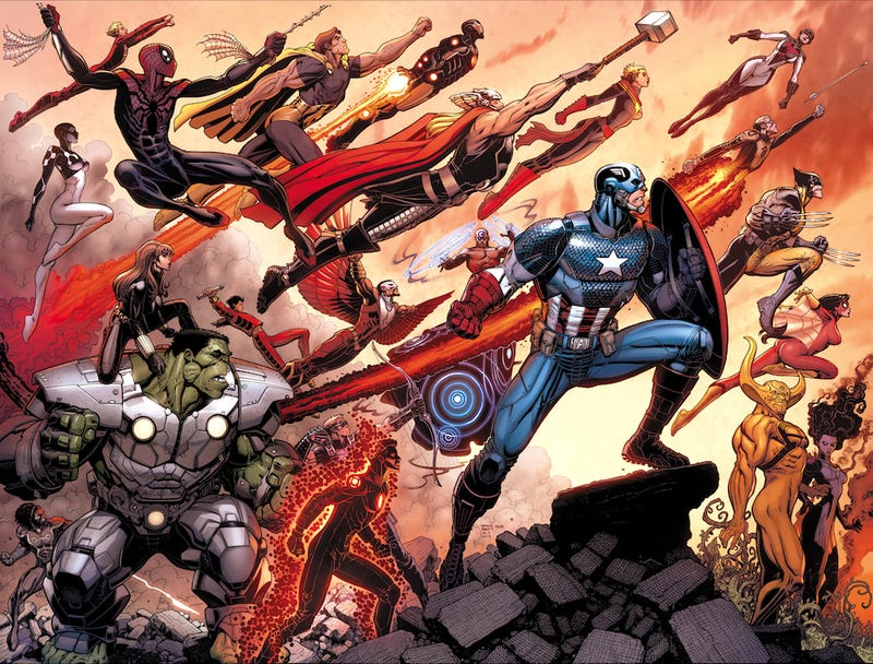 Illustration for article titled It's the Avengers World, we just live in it