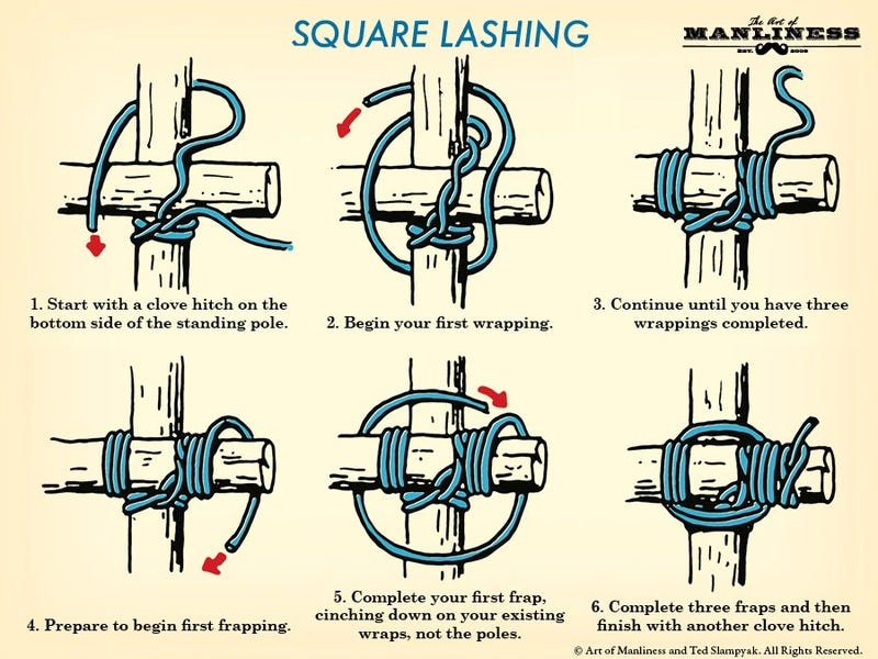 Learn The Basics Of Tying Wood Together With These Three
