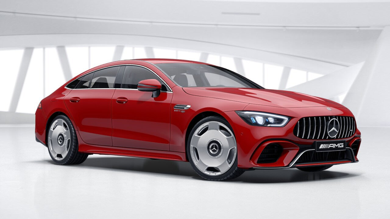 On the one hand the Mercedes-AMG GT 4 Door Coupe is one of the most dishonest cars of a generation. On the other hand it has monoblock wheels. & The Mercedes-AMG GT 4-Door Brings Back Monoblock Wheels of Great ...