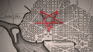Illustration for article titled Are the streets of Washington, D.C. supposed to form a pentagram?
