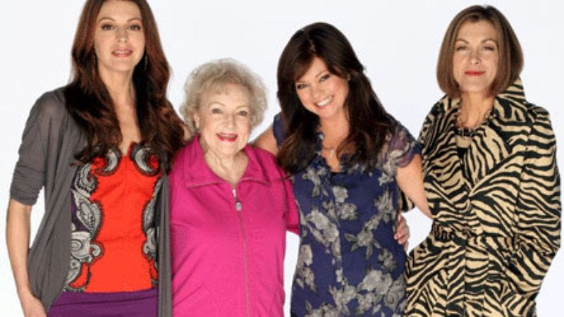 """Illustration for article titled Hot in Cleveland - """"Pilot"""" and """"Who's Your Mama?"""""""