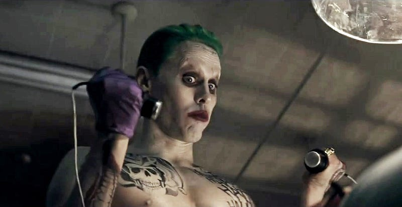 Illustration for article titled Jared Leto se lamenta de que Warner eliminó la mayoría de escenas del Joker en Suicide Squad