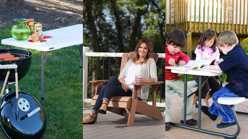 Lifetime Outdoor Furniture Sale   Amazon
