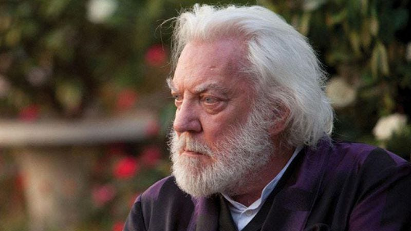 Illustration for article titled Donald Sutherland will star in, produce, and co-write an animated pirate movie