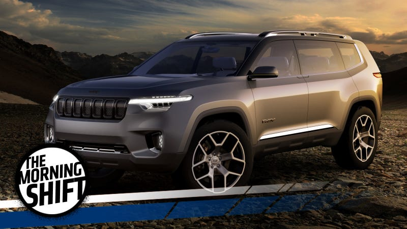 Jeep's three-row Yuntu concept from the recent Shanghai Auto Show. Photo Credit: Jeep