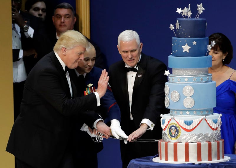 Donald Trump's Inauguration Cake Was Plagiarized, Too