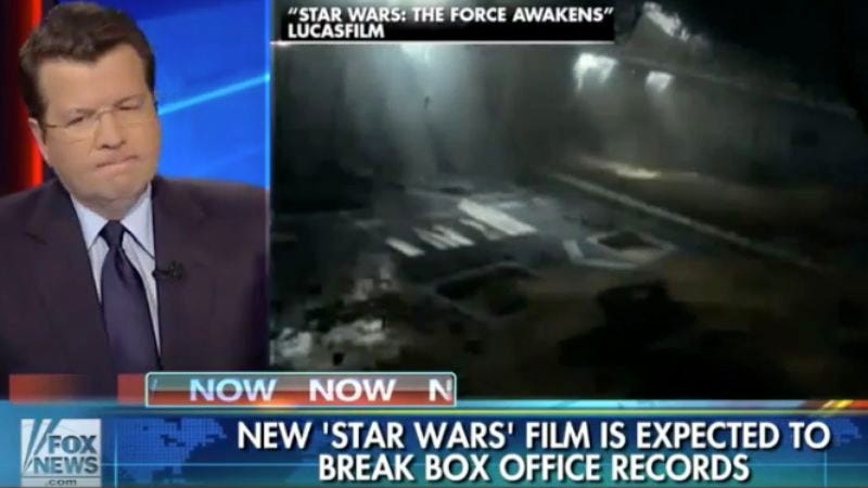 Illustration for article titled Fox News tries, fails to pander to Star Wars nerds