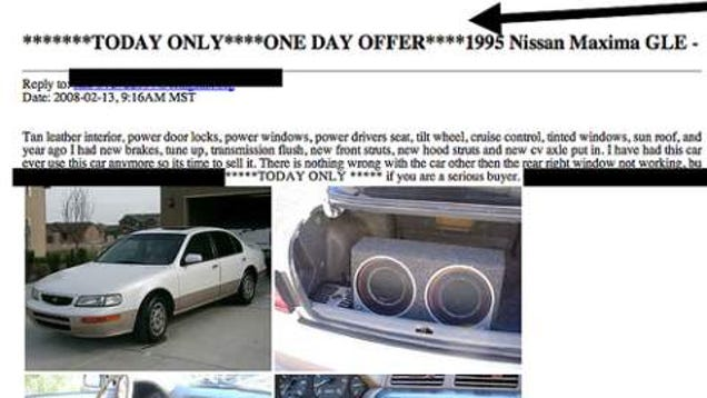 Things To Know Before Buying A Used Car Off Craiglist