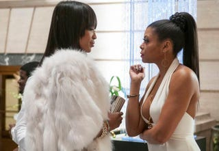 Camilla (Naomi Campbell) (left) better watch out if she thinks she can take on tough Cookie (Taraji P. Henson).Fox