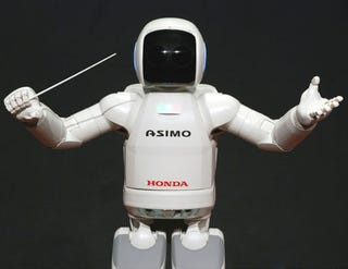 Illustration for article titled ASIMO to Conduct Yo-Yo Ma and Detroit Symphony Orchestra