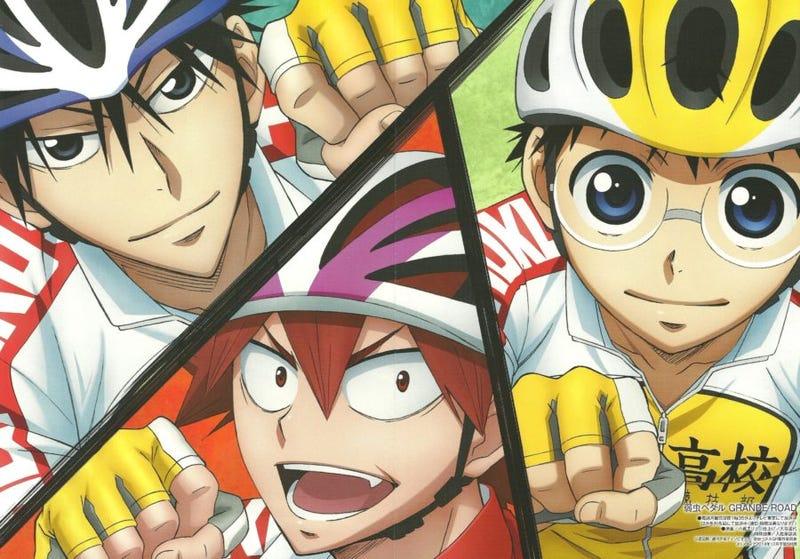 Illustration for article titled Enjoy the newest promo of the third season of Yowamushi Pedal