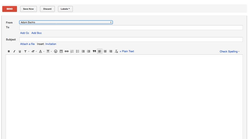Illustration for article titled Open Compose Takes You Straight to Gmail's New Email Window to Avoid Inbox Distractions
