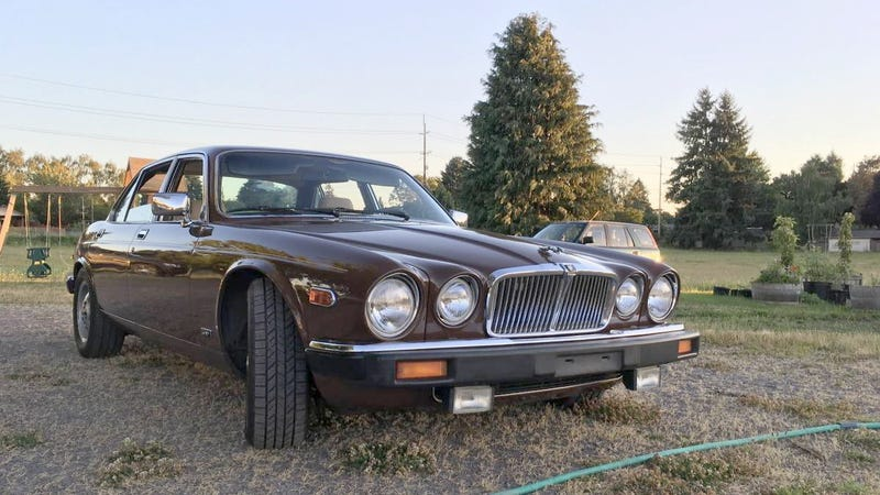 Illustration for article titled At $5,500, Would You Let This 1980 Jaguar XJ6 Series III Class Up the Joint?
