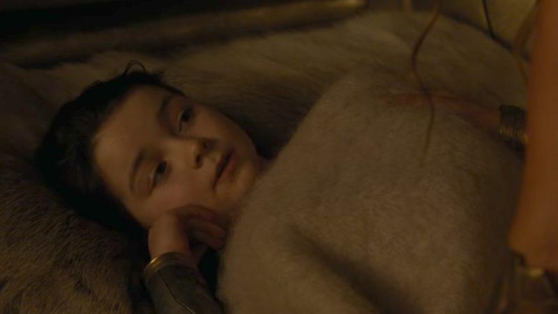 A young Diana, princess of Themyscira (Screenshot: Wonder Woman trailer/Warner Bros.)