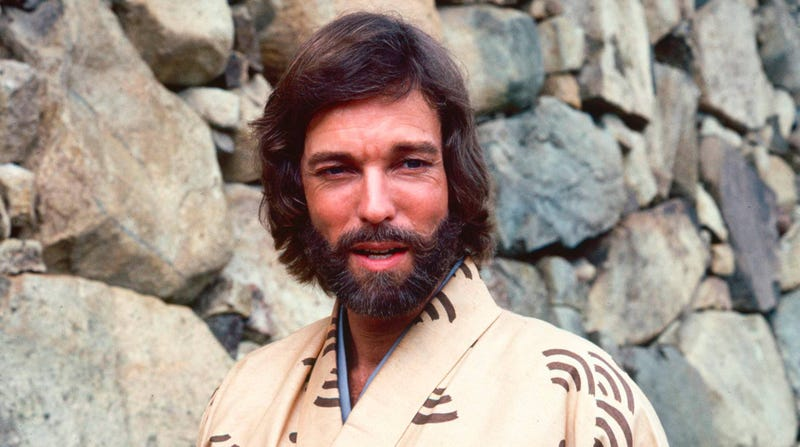 Richard Chamberlain in the 1980 miniseries version of Shogun