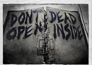 Illustration for article titled Walking Dead set pics reveal how to trick a zombie