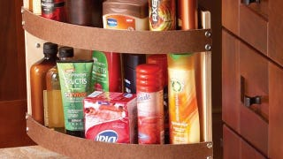 Add a Swing-Out Shelf to Your Bathroom Cupboard for Easy Access