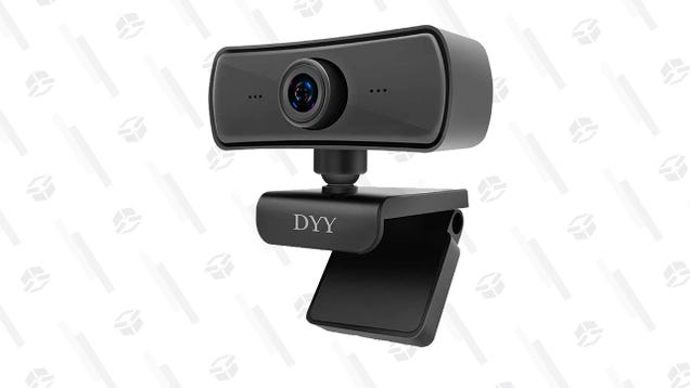 Up Your Zoom Game With This Highly-Rated 2K Rotating Webcam for Only $20