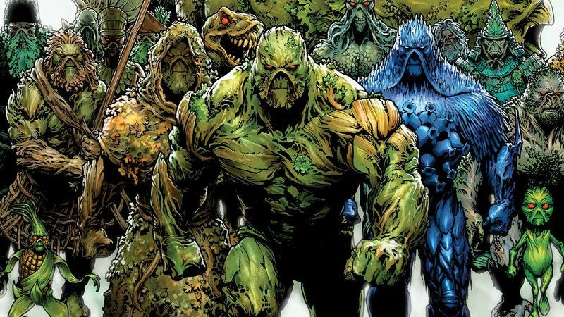 Illustration for article titled The end of Charles Soule's Swamp Thing explores the nature of art