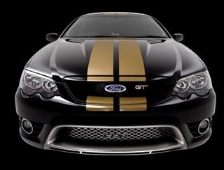 Illustration for article titled Hot Ford in Melbourne: FPV's Falcon GT 40th Anniversary
