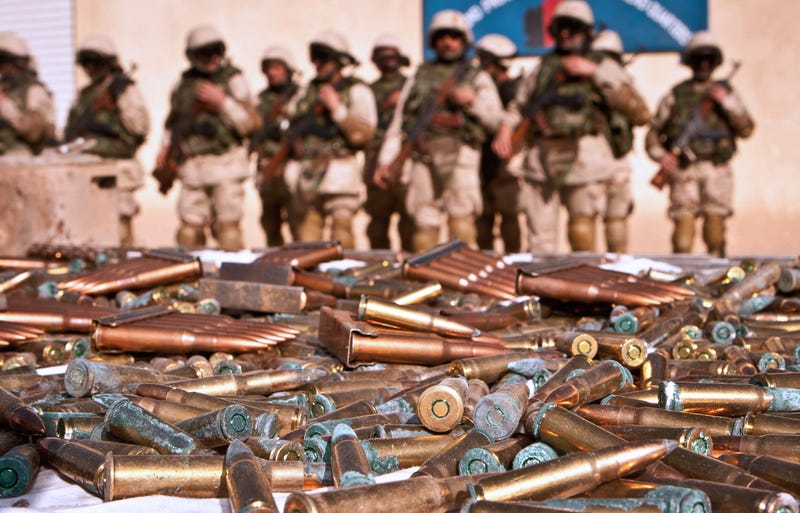 Illustration for article titled Nearly 750,000 U.S. Weapons Are Unaccounted For In Afghanistan