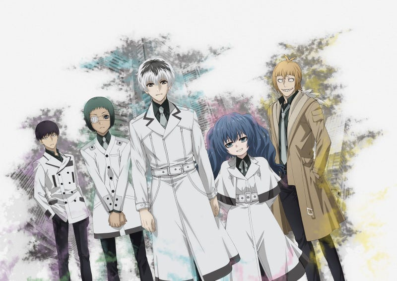 Illustration for article titled Tokyo Ghoul:Re Manga Ending; Tokyo Ghoul:Re anime Second Season Confirmed