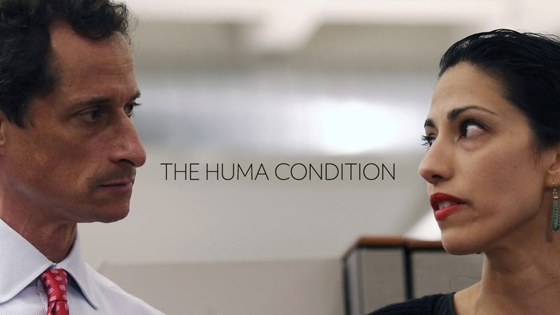 Illustration for article titled New Dumb Theory: Huma Stays With Anthony Weiner Because Islam