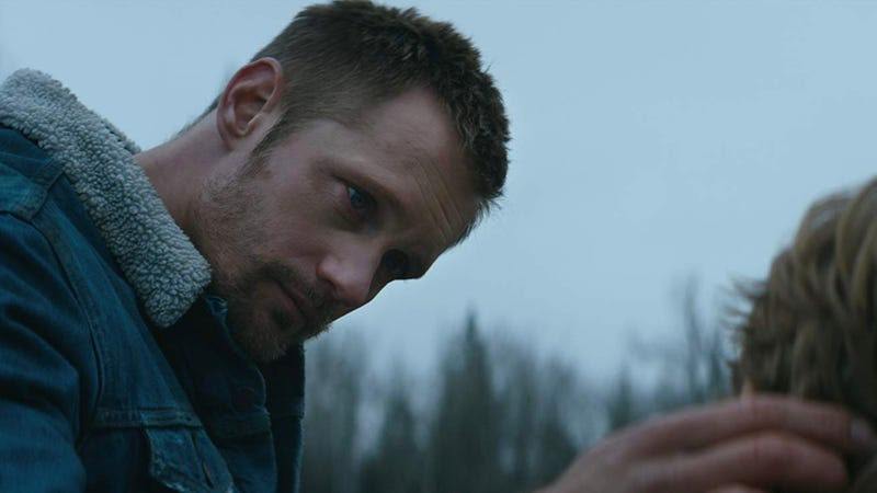 Alexander Skarsgård, seen here in Hold the Dark, will be the personification of evil in The Stand.