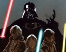 Illustration for article titled 4100 Years of Star Wars in Vector Crossover Comic