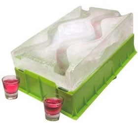 Illustration for article titled Party Shot Luge for Bringing Out the 21-Year-Old Girl in You