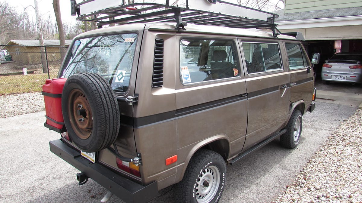 For $19,000, This 1984 VW Vanagon Asks, Have You Driven A