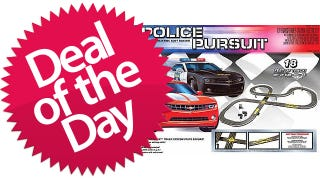 Illustration for article titled This Police Pursuit Electric Race Set Is Your Just-Like-A-Real-Car-Chase Deal of the Day
