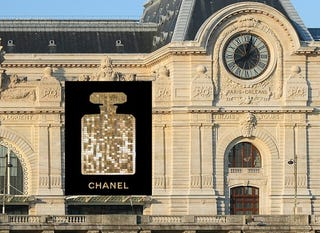 Illustration for article titled The World Is Chanel's Billboard